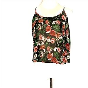 Ambiance Apparel floral tank top cami